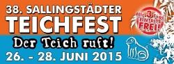 Teichfest 2015